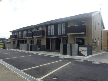 石川県金沢市、馬替駅徒歩15分の築3年 2階建の賃貸アパート
