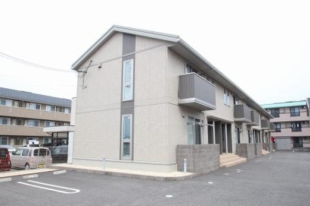 石川県金沢市、東金沢駅徒歩15分の築4年 2階建の賃貸アパート