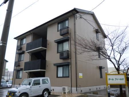 石川県金沢市の築16年 3階建の賃貸アパート