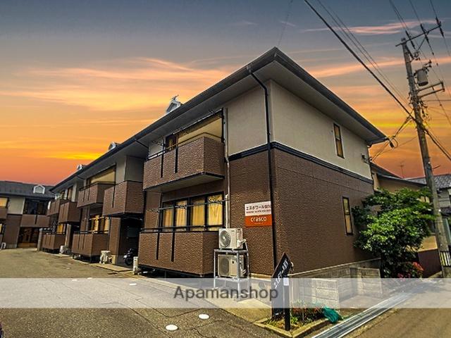 石川県金沢市、磯部駅徒歩4分の築19年 2階建の賃貸アパート