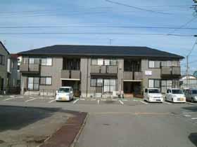 石川県金沢市の築16年 2階建の賃貸アパート