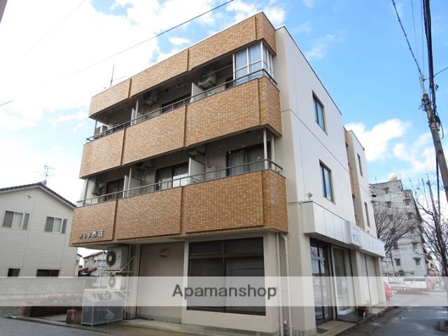 石川県金沢市、金沢駅北鉄バスバス17分赤坂前下車後徒歩1分の築32年 3階建の賃貸マンション