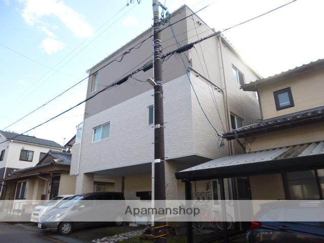 石川県金沢市、金沢駅北鉄バスバス26分末下車後徒歩3分の築21年 3階建の賃貸アパート