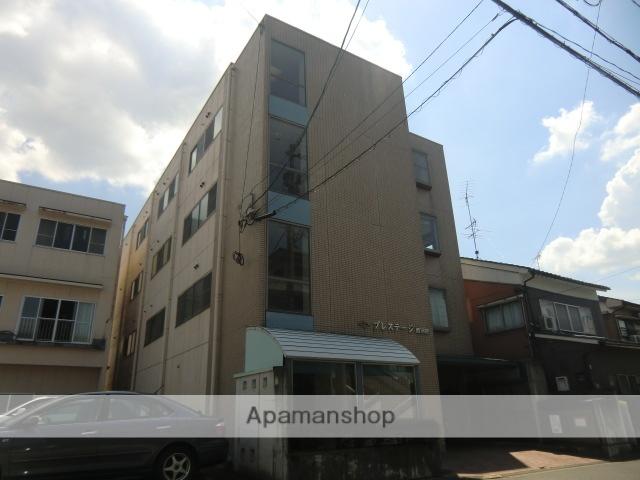 福井県福井市、西別院駅徒歩3分の築19年 4階建の賃貸マンション