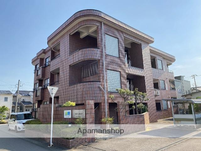 福井県福井市、福井駅徒歩15分の築22年 3階建の賃貸マンション