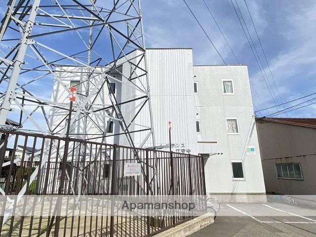 福井県福井市、ベル前駅徒歩18分の築26年 3階建の賃貸マンション