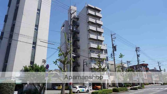 福井県福井市、福井駅徒歩10分の築25年 9階建の賃貸マンション