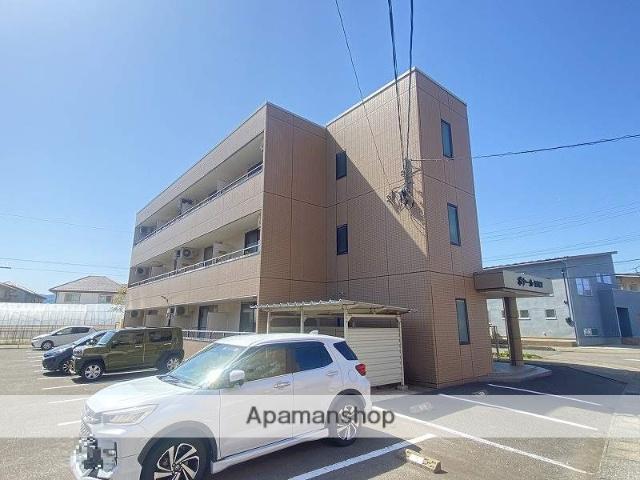 福井県福井市、福井駅京福バスバス15分飯塚町下車後徒歩5分の築18年 3階建の賃貸マンション