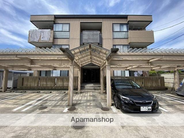 福井県福井市、福井駅徒歩11分の築19年 3階建の賃貸マンション