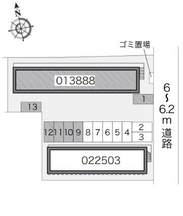 レオパレスLal[1K/19.87m2]の内装1
