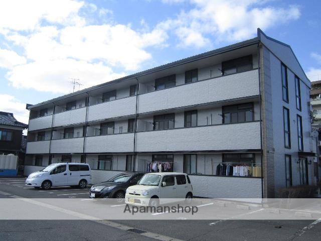 福井県福井市、江端駅徒歩4分の築20年 3階建の賃貸アパート