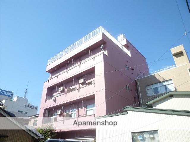福井県福井市、福井駅徒歩6分の築37年 5階建の賃貸マンション
