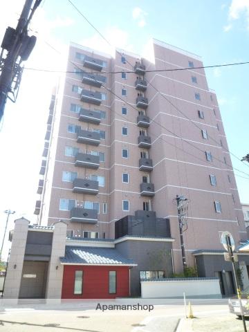 福井県福井市、公園口駅徒歩8分の築1年 10階建の賃貸マンション