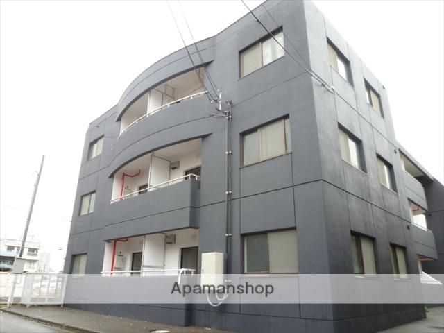福井県福井市、赤十字前駅徒歩7分の築30年 3階建の賃貸マンション