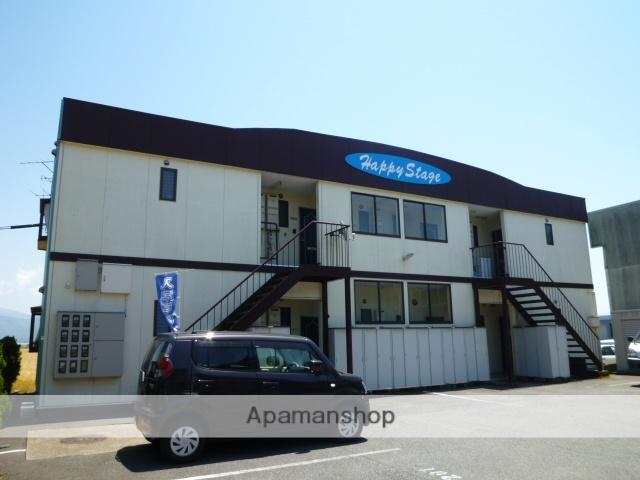 福井県坂井市、西長田駅徒歩16分の築16年 2階建の賃貸アパート