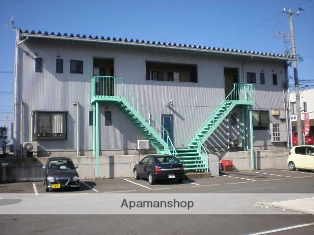 福井県坂井市、西長田駅徒歩16分の築14年 2階建の賃貸アパート