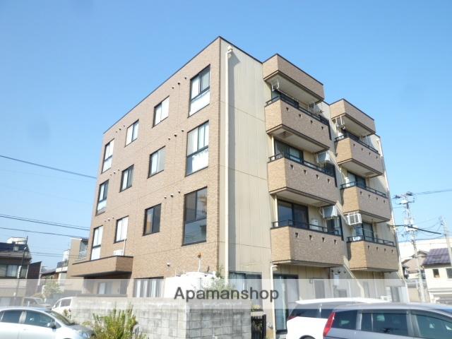 福井県福井市、福井駅徒歩13分の築23年 4階建の賃貸マンション