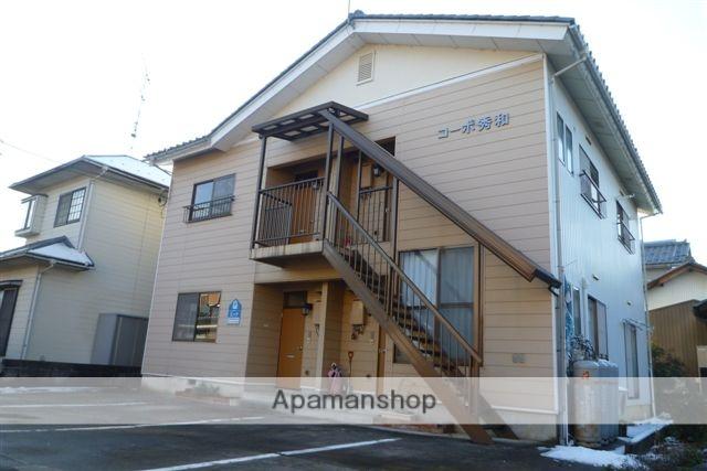 福井県坂井市、森田駅徒歩45分の築23年 2階建の賃貸アパート