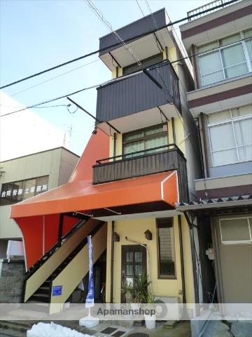 福井県福井市、福井駅徒歩4分の築34年 3階建の賃貸マンション