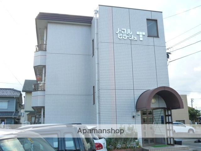 福井県福井市、福大前西福井駅徒歩4分の築27年 3階建の賃貸マンション