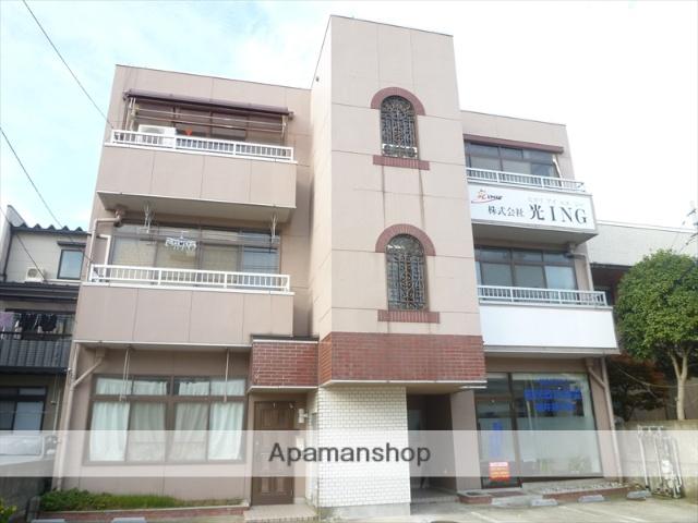 福井県福井市、新福井駅徒歩11分の築34年 3階建の賃貸マンション