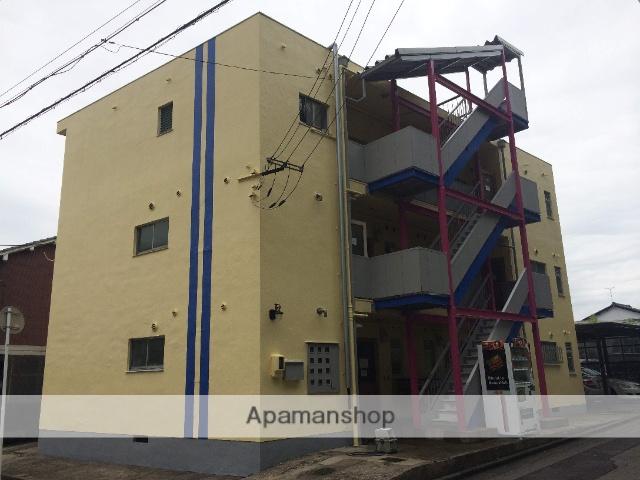 福井県福井市、公園口駅徒歩20分の築46年 3階建の賃貸マンション