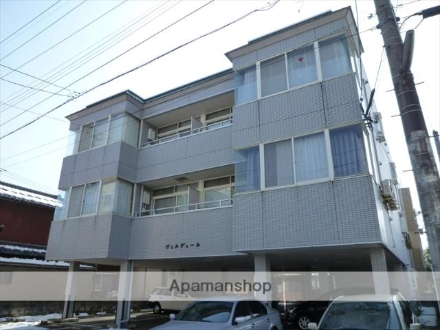 福井県福井市、福井駅徒歩9分の築22年 3階建の賃貸マンション