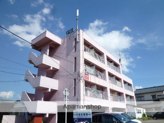 福井県福井市、福大前西福井駅徒歩13分の築20年 4階建の賃貸マンション