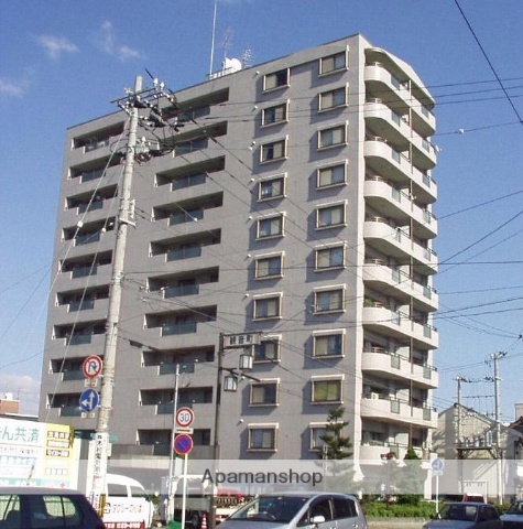 福井県福井市、福井駅徒歩7分の築26年 11階建の賃貸マンション