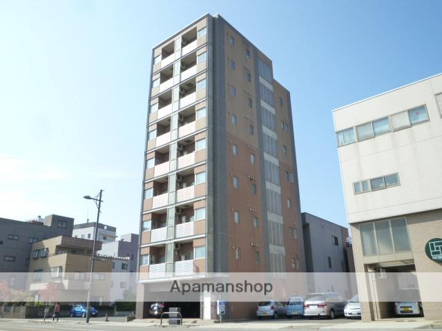 福井県福井市、福井駅徒歩4分の築13年 9階建の賃貸マンション