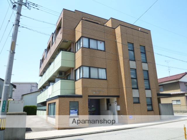 福井県福井市の築19年 4階建の賃貸マンション