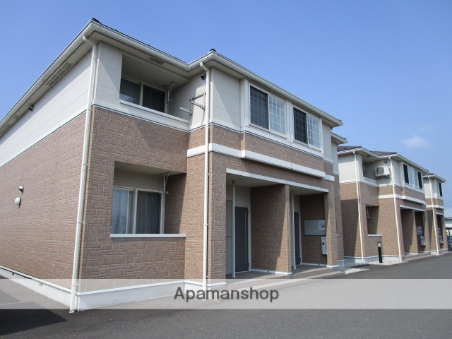 福井県福井市、江端駅徒歩4分の築9年 2階建の賃貸アパート