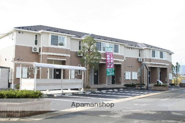 福井県福井市、新田塚駅徒歩11分の築9年 2階建の賃貸アパート