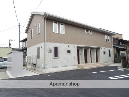 福井県福井市、福大前西福井駅徒歩17分の築2年 2階建の賃貸アパート