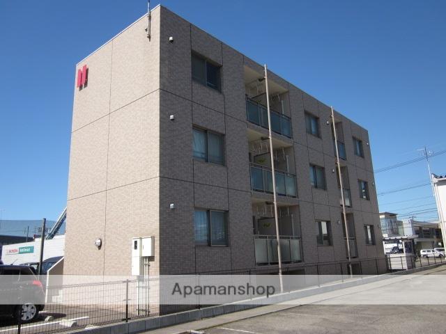 福井県福井市、福井駅バス15分繊維センター口下車後徒歩3分の築7年 3階建の賃貸マンション