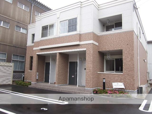 福井県福井市、福井駅バス20分狐橋下車後徒歩2分の築7年 2階建の賃貸アパート
