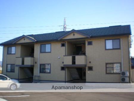 福井県福井市、森田駅バス5分六才橋下車後徒歩7分の築10年 2階建の賃貸アパート