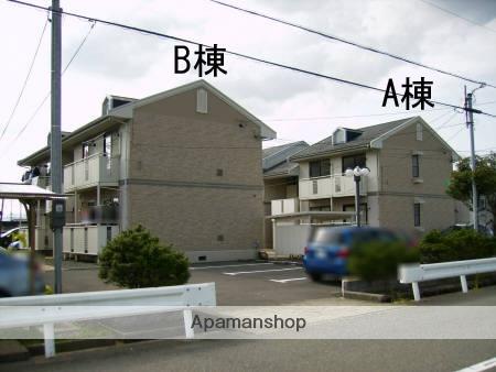 福井県福井市、福井駅京福バスバス9分和田東下車後徒歩5分の築27年 2階建の賃貸アパート