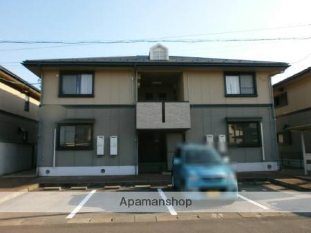 福井県福井市、福井駅京福バスバス11分和田中下車後徒歩10分の築21年 2階建の賃貸アパート