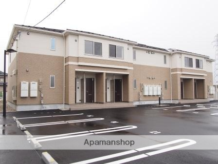 福井県福井市、森田駅京福バスバス8分定重下車後徒歩10分の築2年 2階建の賃貸アパート