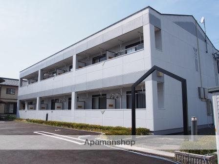 福井県福井市、福井駅バス20分和田中下車後徒歩2分の築10年 2階建の賃貸アパート