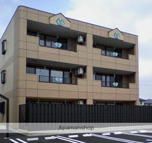 福井県福井市、福井駅バス10分新田塚2丁目下車後徒歩10分の築9年 3階建の賃貸アパート