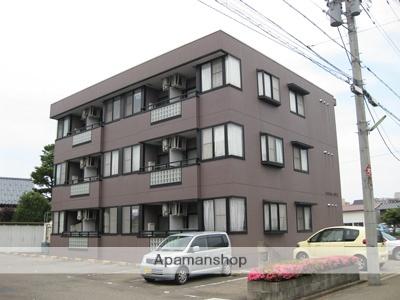 福井県福井市、福井駅バス13分新米松下車後徒歩2分の築21年 3階建の賃貸マンション