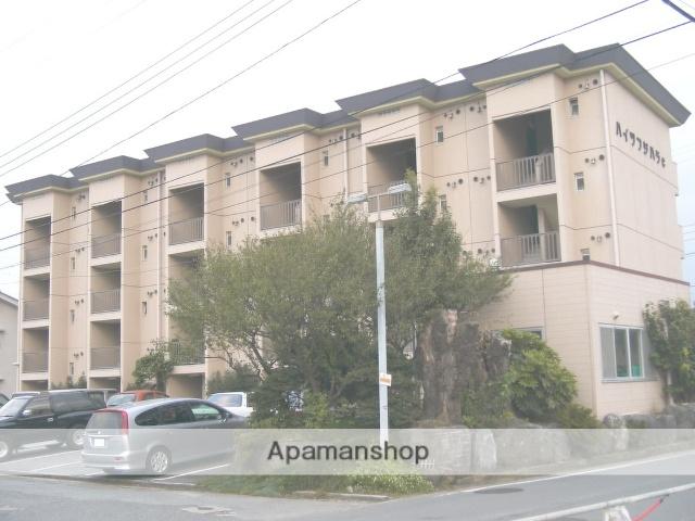 山梨県中央市、常永駅徒歩15分の築30年 4階建の賃貸マンション