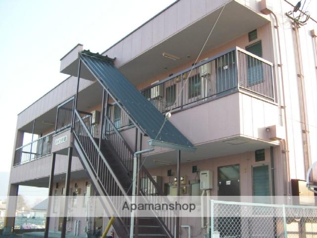 山梨県中央市、小井川駅徒歩10分の築26年 2階建の賃貸アパート