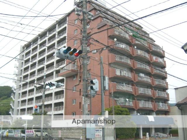 山梨県甲府市、甲府駅徒歩15分の築40年 11階建の賃貸マンション