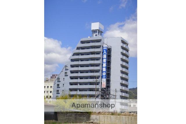 山梨県甲府市、甲府駅徒歩6分の築28年 13階建の賃貸マンション