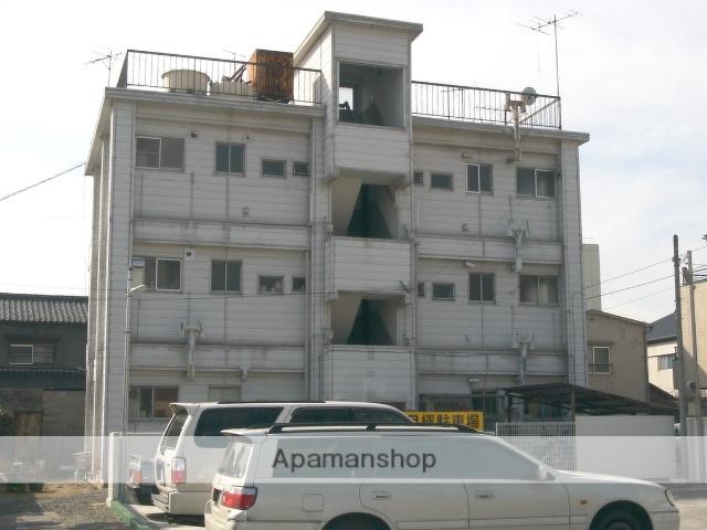 山梨県甲府市、甲府駅徒歩6分の築47年 3階建の賃貸アパート