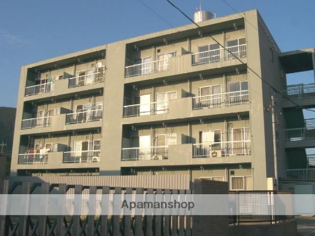 山梨県甲府市、石和温泉駅徒歩8分の築43年 4階建の賃貸マンション