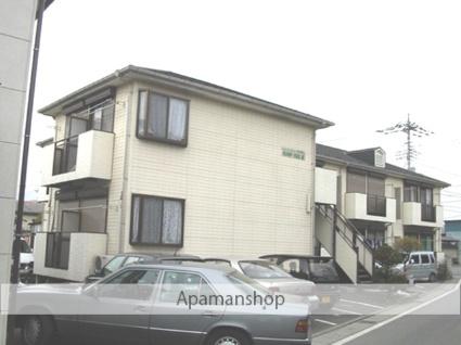 山梨県甲斐市の築24年 2階建の賃貸アパート